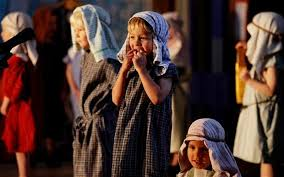 no room at the inn for baby jesus in school nativities