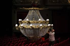 paris opera house chandelier the magic of phantom u0027s chandelier toronto star