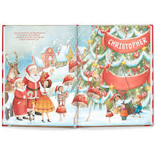 christmas personalized my own christmas personalized storybook lillian vernon