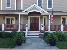 Front Porch Floor Paint Colors by The Refinishing Of An Ipe Wood Front Porch Floor Painting In
