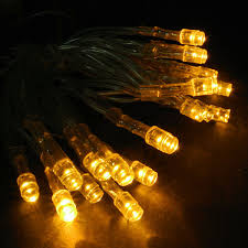 battery powered cl light battery operated 20 led string light set yellow clear cord led