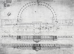 Royal Albert Hall Floor Plan by Floor Plan Of Frederick The Greats Sanssouci Sanssouci Pinterest