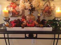 dollar tree fall decor painted trays thanksgiving