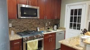 white oak wood cordovan lasalle door discount kitchen cabinets nj