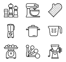 kitchen icon 117 kitchen icon packs vector icon packs svg psd png eps