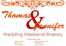 wedding itinerary template for guests free wedding itinerary templates and timelines