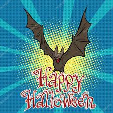 happy halloween bat vampire u2014 stock vector studiostoks 124726084
