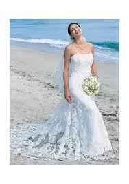 buy cheap spaghetti glorious lace overlay beach wedding dress