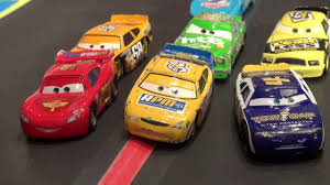 vs sports car video toy pixar cars a video re enactment of how lightning mcqueen got