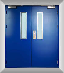 Fire Rated Doors With Glass Windows by Fire Rated Door Al Banoosh Trading Est