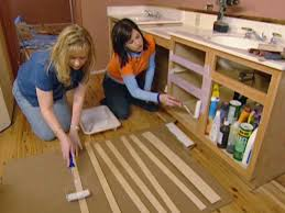 Kitchen Cabinet Refacing Materials Refacing Bathroom Cabinets How Tos Diy