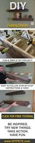 Easy Wood Shelf Plans by Best 25 Diy Wood Shelves Ideas On Pinterest Reclaimed Wood