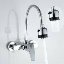 kitchen faucets single handle with sprayer wall mounted sprayer kitchen faucet single handle chrome