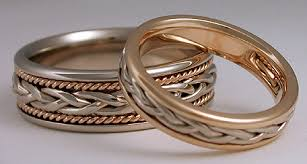 braided ring woven rings