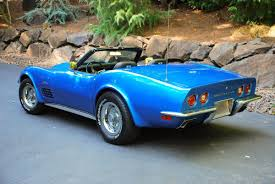 1972 stingray corvette value 1972 corvette stingray convertible