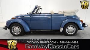 blue volkswagen beetle 1970 1978 volkswagen super beetle gateway classic cars chicago 741