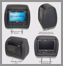 toyota highlander dvd headrest dvd headrest package custom lcd led backlit screens and