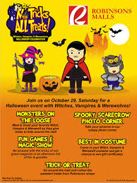 manila shopper robinsons trick u0026 treat promo