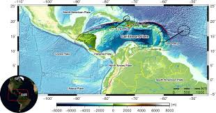 Map Of Tectonic Plates John Elliott U0027s Research