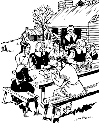 100 ideas the first thanksgiving coloring pages on