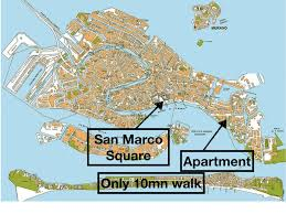 Venice Italy Map Apartment Arlecchino Venice Italy Booking Com