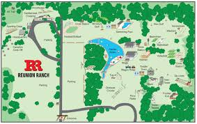 Austin Maps by Event Venue Maps Reunion Ranch