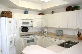 amazing of modern kitchen with white appliances pertaining to