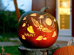 pumpkin carving tutorial from nikki mcclure sunset