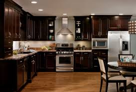 dark wood cabinets in kitchen light wood kitchen cabinets with dark wood floors kitchen