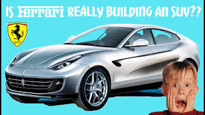 suv ferrari price ferrari f16x 6 things you need to know about the all new ferrari