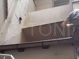 taubenabwehr balkon taubenabwehr vogelabwehr installation vogelabwehrsystemen