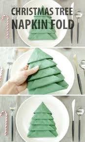 best 25 christmas tree napkin fold ideas on pinterest diy