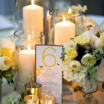 best 25 candle centerpieces ideas on table candle