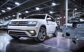 atlas volkswagen 2018 2018 volkswagen atlas gets sporty r line treatment