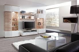 Wohnzimmerschrank Rund Wohnwand Modern Eiche Weiß Mxpweb Com