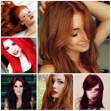hair styles color in 2015 stylish red hair color hairstyles 2016 female haircuts and