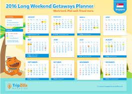 printable planner 2015 singapore 7 long weekends in singapore in 2016 bonus planner cheatsheet