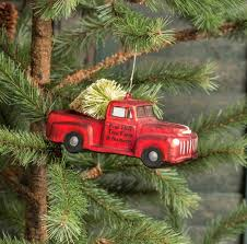 vintage truck ornament reviews birch