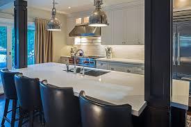 kitchen islands with columns linear kitchen island design ideas
