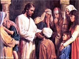 Christ Healing The Blind Image Jesus Christ Healing The Born Blind Man صورة السيد المسيح