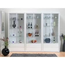 quad display cabinet modern buffets cabinets eurway