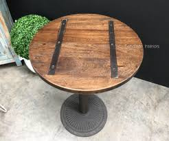 metal table tops for sale cafe table tops metal insert round sale canalside interiors