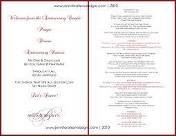 50th wedding anniversary program templates 50th wedding anniversary reception program maitlive