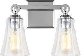 Feiss VSCH Monterro Chrome Light Bathroom Wall Light - Bathroom lighting fixtures chrome 2