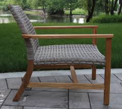 Outdoor Lounging Chairs Wicker U0026 Natural Teak Outdoor Lounge Chair 2 Pk
