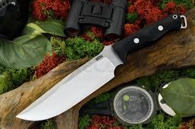 bark river kitchen knives bark river knives bravo survivor fixed 7 125