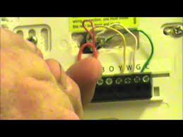 fix my own ac how to change a thermostat youtube