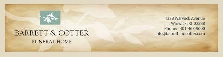 barrett cotter funeral home obituaries