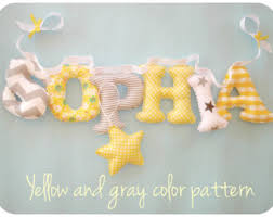 hanging letter s shabby chic fabric letters u0027s room