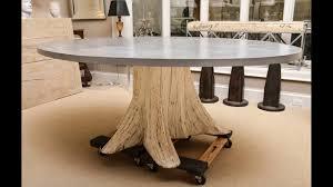 tree trunk coffee table ideas youtube